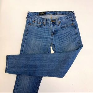 J Crew Toothpick Jeans 28 Ankle